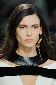 Louis-Vuitton-Fall-2014 statement earring