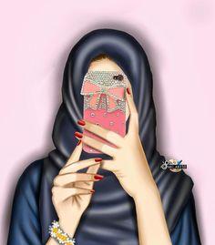 Hijabis of the Three Times Beautiful Girl Drawing, Cute Girl Drawing, Girly M, Beautiful Muslim Women, Beautiful Hijab, Hijabi Girl, Girl Hijab, Tmblr Girl, Sarra Art