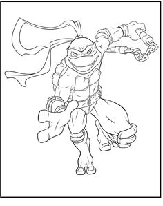 Michelangelo The Stronger Coloring Pages For Kids Gcn Printable Teenage Mutant Turtle Coloring Pages Ninja Turtle Coloring Pages Coloring Pictures For Kids