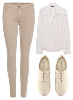 """Travel Time"" by mari-marishka ❤ liked on Polyvore featuring Plein Sud, 7 For All Mankind and H&M"