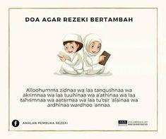 DOA-DOA YANG AKAN MEMBUAT KITA DIKEJAR-KEJAR REZEKI - BELAJAR BERSAMA Hijrah Islam, Doa Islam, Muslim Quotes, Islamic Quotes, Quran Quotes Inspirational, Learn Islam, Prayer Verses, Islamic Pictures, Alhamdulillah