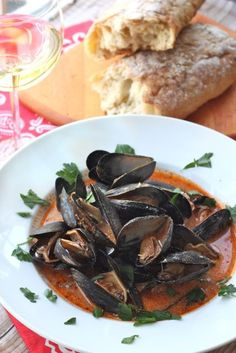Italian Mussels Fra Diavolo