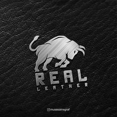 Need a new logo for your brand identity ? check now. I will make a great logo for you. Real Leather Wallet, Leather Bag, Leather Jacket, Bull Logo, Fox Logo, Logo Real, Horse Logo, Great Logos, Free Business Cards