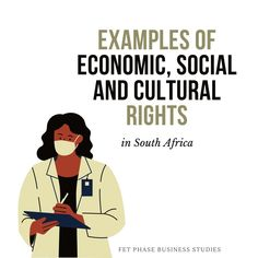 Header image for Economic, Social and Cultural Rights |There are three generations of human rights. The first is known as civil and political rights. Socio-economic rights are second-generation human rights. They address matters related to living and working conditions. In South Africa, they include education, fair wages, access to basic health care, social security and cultural participation · Grade 12 Business Studies with Nonjabulo Tshabalala, Qualified South African Business Studies… Past Exam Papers, Past Exams, Business Studies, Header Image, Study Notes, Social Security, Human Rights, South Africa