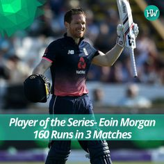 Eoin Morgan has been in great nick. The England captain will want to carry this form into the Champions Trophy! #ENGvSA #CT17 #ENG #SA #cricket