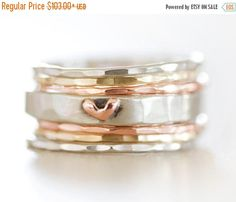 HOPPY EASTER SALE Stacking Rings / Gift for Her / Mothers Day