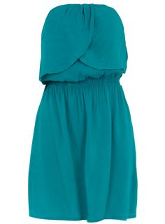 Teal tube tunic | Dorothy Perkins