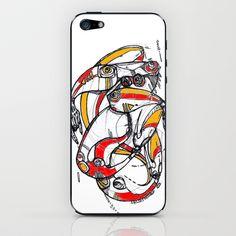 What's on your mind? iPhone & iPod Skin by Maccu Maccu - $15.00