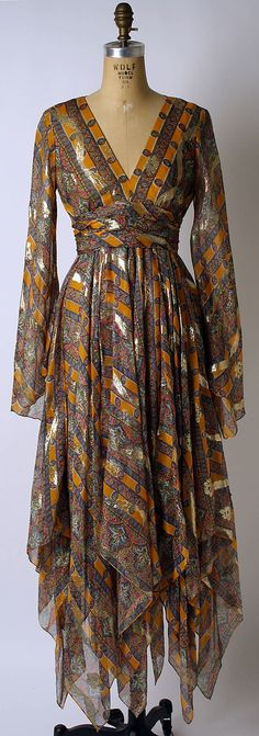 Bill Blass Cocktail dress 1967-would love to have this
