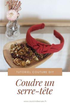 Tuto couture DIY : coudre un serre-tête - Au coin des rues