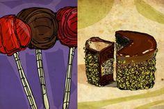 gildedage: illustrate any food object for $5, on fiverr.com