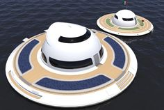 Floating UFO expected to make sea landing in 2018 11/17/16 Jet Capsule sees the UFO 2.0 also being used as a restaurant or gym, as well...