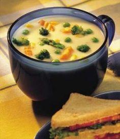 Acid Reflux Diet Recipes Online - Low Fat Cheesy Vegetable Soup - http://acidrefluxrecipes.com/acid-reflux-diet-recipes-online-low-fat-cheesy-vegetable-soup/