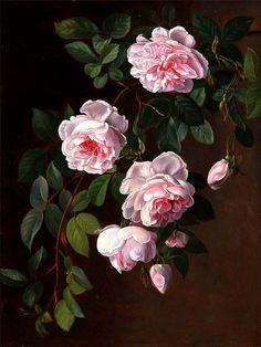 Roses, by Johan Laurentz Jensen