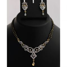 Enthralling Mangalsutra Necklace Set
