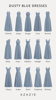 Shop for a large variety of dusty blue bridesmaid dresses at Azazie. With bridesmaid dresses from Azazie, you are sure to find a dusty blue bridesmaid dress for the perfect look for your wedding. Pretty Dresses, Blue Dresses, Beautiful Dresses, Navy Dress Outfits, Light Blue Prom Dresses, Briadsmaid Dresses, Dresses For Prom, Cute Short Prom Dresses, School Dance Dresses