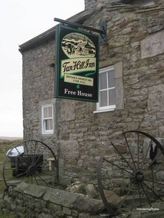Wandering Photos - Tan Hill Inn - Swaledale North Yorkshire England - Britain's Highest Inn
