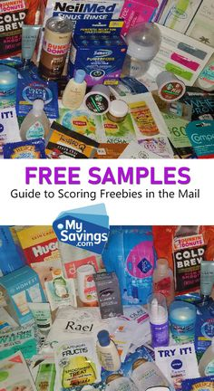 Some common questions are answered on how to get real Free Samples sent to you in the mail! Coupons For Free Items, Free Coupons By Mail, Free Samples By Mail, Free Printable Coupons, Couponing For Beginners, Couponing 101, Extreme Couponing, Stuff For Free, Free Stuff By Mail