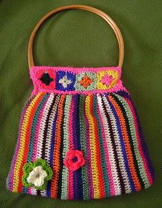Crochet Bags - a gallery on Flickr