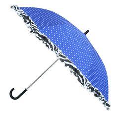 Paraplu Zebra Trends - Blauw/zebra - Outside Wishes