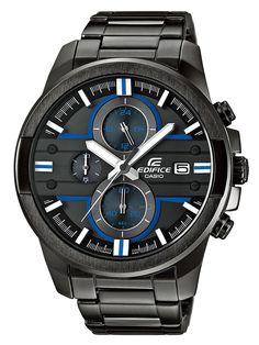 fe6ebfa0ec8 Casio Edifice Chrono EFR-543BK-1A2VU Reloj Para hombres EFR-543BK-1A2VU