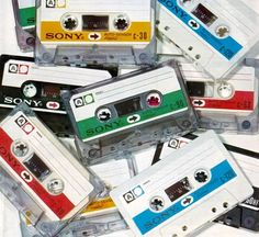 Colour Coded | SONY cassette