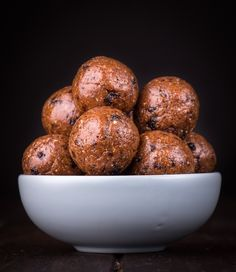 Hot cross bun bliss balls