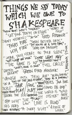 Shakespeare's quotes you may not have realized were Shakespeare.
