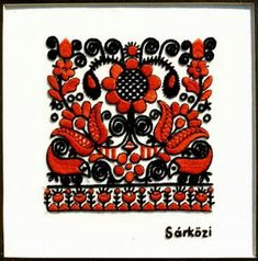 Amazing Hungarian embroidery I can create in cake Chain Stitch Embroidery, Hand Embroidery Stitches, Embroidery Techniques, Embroidery Patterns, Hungarian Embroidery, Folk Embroidery, Learn Embroidery, Flower Embroidery, Stitch Head