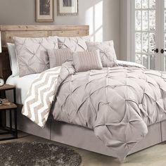 Avondale Manor Ella Pinch Pleat 7-pc. Comforter Set,