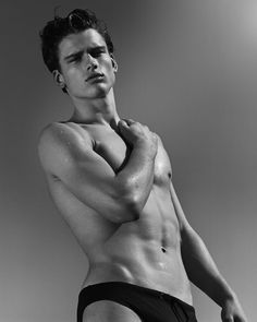 Whoever arranged for Simon Nessman to be photographed by Bruce Weber did the world a huge service!