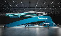 * Panasonic * Stand design * on Behance