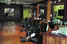Really good ideas to inspire your barber shop setup and barber furniture you buy from Standish Salon Goods