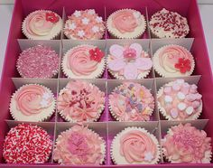 Ideas For Baby Shower Cupcakes For Girls