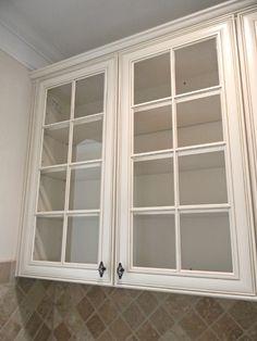 Timberlake Sierra Vista Cabinets. Glass Doors With Matching Interiors