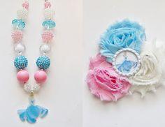 Bubblegum Bead necklace  Cinderella  Jensen Crafts: NEW ITEMS