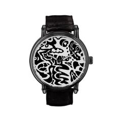 Zazzle now has watches. Check out my cool B abstract on this cool watch. See more of my art work @ RLMdesigns
