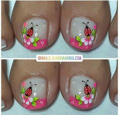 Pedicure, Nail Art, Nails, Mary, Instagram, Finger Nails, Toe Nail Art, Decorations, Pretty Toe Nails