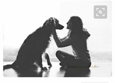 Girl & her dog