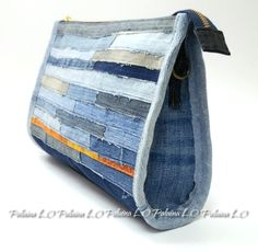 Bag from recycled jeans!