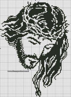 Image result for ponto cruz graficos gratis motivos religiosos