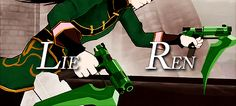 series, lie ren, and rwby image Rwby Ren, Lie Ren, Nora Valkyrie, Pyrrha Nikos, The O'jays, Red Like Roses, Rwby Fanart, Show Me The Way, Rooster Teeth