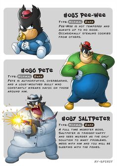 Disney Meets Pokémon - Classic Collection- Pee-wee = Pete = Saltpeter = by Ry-Spirit Disney Fan Art, Disney Pixar, Disney Memes, Disney Marvel, Disney And Dreamworks, Disney Magic, Walt Disney, Oc Pokemon, Pokemon Memes