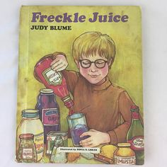 Freckle Juice by Judy Blume, 1971, Hardcover, Vintage Children's Book, Freckle Juice, Illustrated by Sonia O. Lisker, Weekly Reader Book