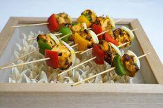 Coriander Groups' Indian canapes, Hors d'oeuvre  - Chicken Tikka Shashlik
