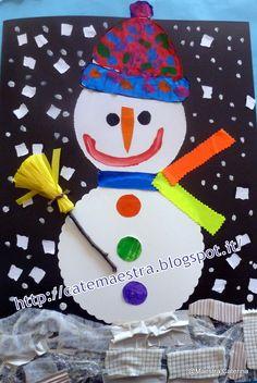 Maestra Caterina: Pupazzi di neve...