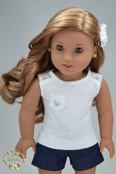 American girl doll clothes OOAK Luxury crafted by PurpleRoseNY2nd