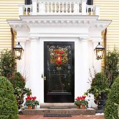 Entry Door Colors With White Walls