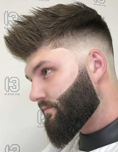 Beard Styles For Men, Hair And Beard Styles, Curly Hair Styles, Mens Hairstyles With Beard, Haircuts For Men, Barber Shop Haircuts, Awesome Beards, Curly Hair Men, Beard No Mustache
