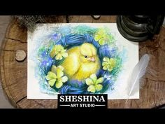 🎨How to draw an old watering can and blossoming branches with soft pastels 🎨 How to draw Flowers | Speed Painting 📌 Materials: * Soft pastels * Pastel Pencil...